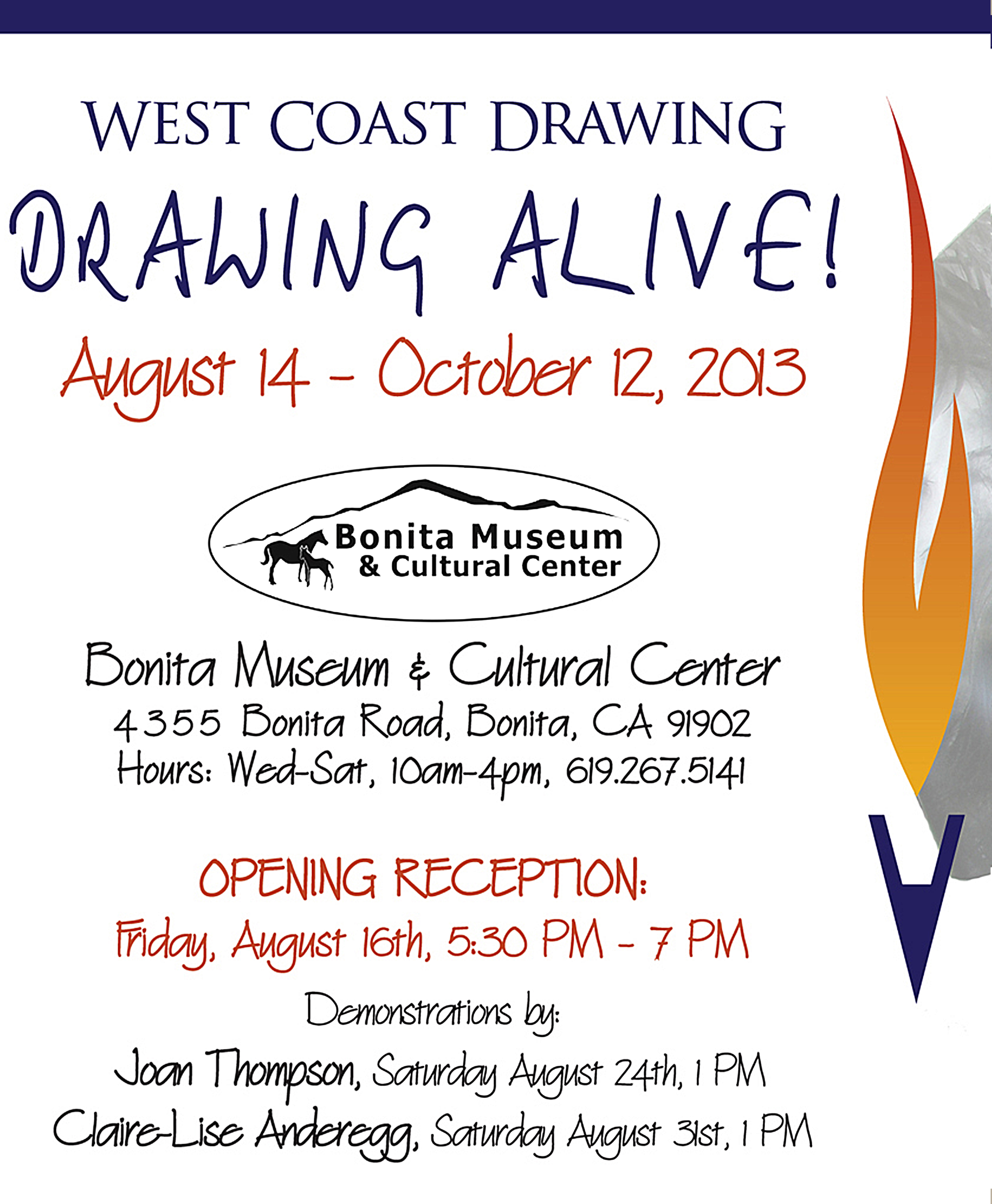 West Coast Drawing 10th anniversary exhibition